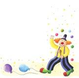 szczęśliwy klaun Obraz Stock