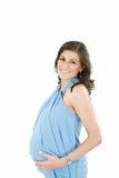 Szczęśliwy kobieta w ciąży Zdjęcie Stock