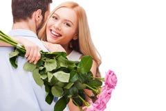 szczęśliwy kochać pary zdjęcia royalty free