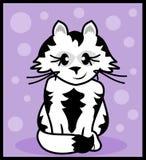 Szczęśliwy Kot Ilustracji