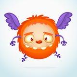 Szczęśliwy kreskówka potwór Fotografia Stock