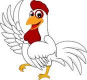 Szczęśliwy kurczak Zdjęcie Stock