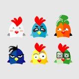 Szczęśliwy kurczak ilustracji