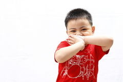 Szczęśliwy Little Boy Zdjęcie Stock