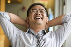 szczęśliwy mężczyzna Obrazy Stock