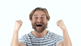 Szczęśliwy mężczyzna odświętności osiągnięcie, Pomyślny zbiory