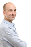 szczęśliwy mężczyzna portreta ja target3890_0_ zdjęcia stock