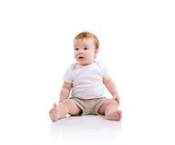 szczęśliwy mały chłopiec zdjęcie royalty free