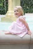 szczęśliwy mały dziewczyny Obrazy Royalty Free