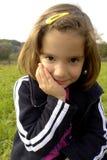 szczęśliwy mały dziewczyny Zdjęcia Stock