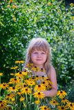 szczęśliwy mały dziewczyny Zdjęcia Royalty Free