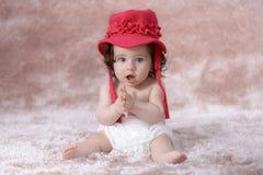 szczęśliwy mały dziewczyny Obraz Royalty Free
