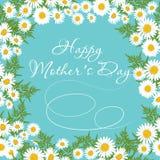 Szczęśliwy Macierzysty ` s dnia kartka z pozdrowieniami Zdjęcia Royalty Free
