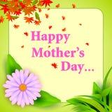 Szczęśliwy matka dnia świętowania tło Obraz Stock