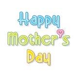 Szczęśliwy matka dnia projekt Zdjęcie Royalty Free