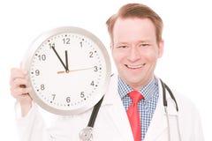 Szczęśliwy medyczny czas zdjęcie royalty free