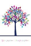 szczęśliwy miejsca teksta drzewo Zdjęcie Stock
