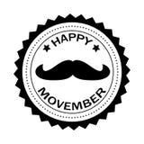 Szczęśliwy Movember Fotografia Stock