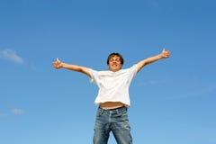 szczęśliwy nastolatek obraz stock