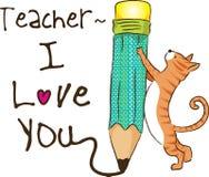 Szczęśliwy nauczyciela dzień Zdjęcie Royalty Free