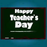 Szczęśliwy nauczyciela dzień Obrazy Royalty Free