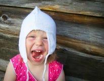 Szczęśliwy nieociosany dzieciństwo Fotografia Royalty Free