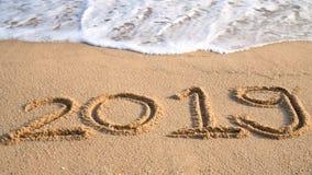 Szczęśliwy nowego roku 2019 pojęcie Zdjęcie Royalty Free