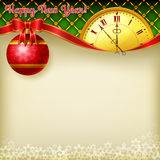 Szczęśliwy nowego roku tło Fotografia Royalty Free