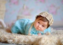 szczęśliwy nowonarodzone dziecko Obrazy Royalty Free