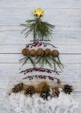 szczęśliwy nowy drzewny rok Fotografia Royalty Free