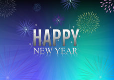 szczęśliwy nowy rok royalty ilustracja