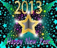 Szczęśliwy nowy rok 2013 Zdjęcia Stock