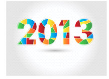 Szczęśliwy nowy rok 2013 Fotografia Royalty Free