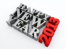 Szczęśliwy nowy rok 2013 Zdjęcie Royalty Free