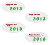 Szczęśliwy nowy rok 2013 Obraz Stock