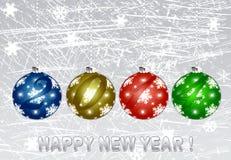 Szczęśliwy nowy rok 2014. royalty ilustracja
