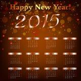 Szczęśliwy nowy rok - 2015 Fotografia Royalty Free