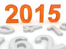 Szczęśliwy nowy rok 2015 Zdjęcie Stock