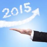 Szczęśliwy nowy rok 2015 Zdjęcia Stock