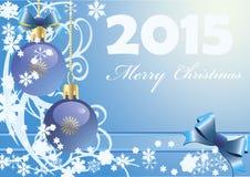 Szczęśliwy nowy rok 2015 Fotografia Stock