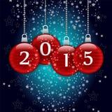 Szczęśliwy nowy rok 2015 royalty ilustracja
