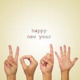 Szczęśliwy nowy rok 2015 Zdjęcie Royalty Free
