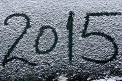 Szczęśliwy nowy rok 2015 Obrazy Royalty Free
