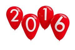 Szczęśliwy nowy rok 2016 Zdjęcia Royalty Free