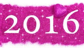 Szczęśliwy nowy rok 2016 Obraz Stock