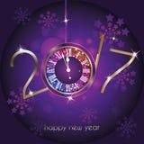 Szczęśliwy nowy rok - 2017 Zdjęcie Stock