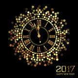 Szczęśliwy nowy rok - 2017 Fotografia Royalty Free