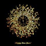 Szczęśliwy nowy rok - 2017 Fotografia Stock