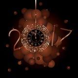 Szczęśliwy nowy rok - 2017 Obraz Royalty Free