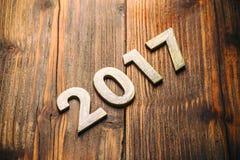 Szczęśliwy nowy rok 2017 Fotografia Stock